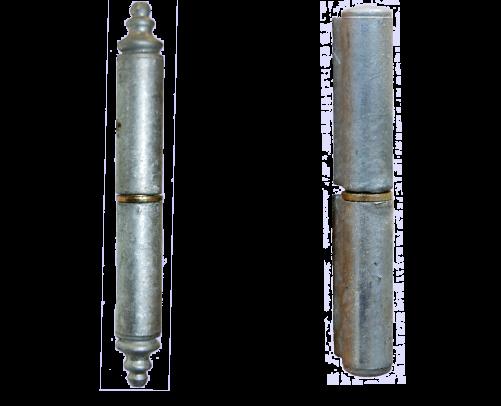 Berlinerknopphengsel og Standard hengsel til systemhengsel varmgalvanisert
